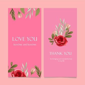 Rosenblumenhintergrund