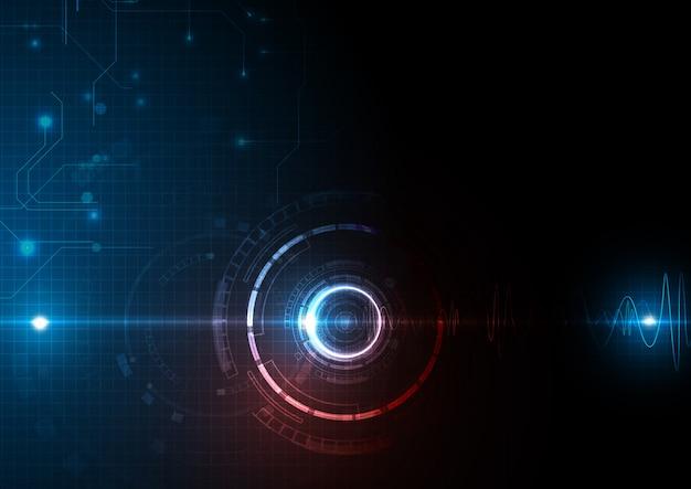 Rot-blaulicht-technologie-datenaktualisierung
