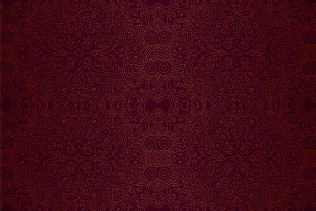 Rot linear auf lila