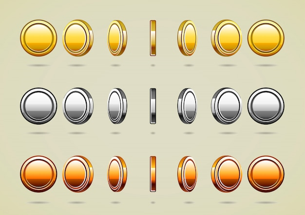 Rotationsmünzen