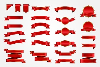Rote Bandsammlung