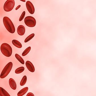 Rote blutkörperchen hintergrund