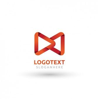 Rote dreiecke logo