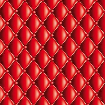 Rote gesteppte textur