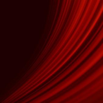 Rote glatte twist-lichtlinien.