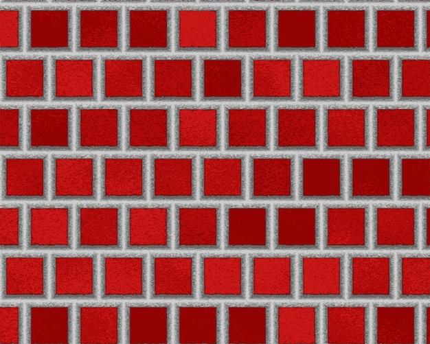 Rote keramikfliesen, abstrakte textur. einfache textur