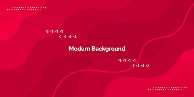 Rote kurve mit buntem und gardientem hintergrund der glatten linie