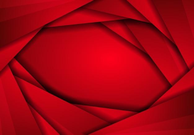 Rote metallbeschaffenheit des hintergrundes, abstraktes metallrot mit dreieckrahmenplan