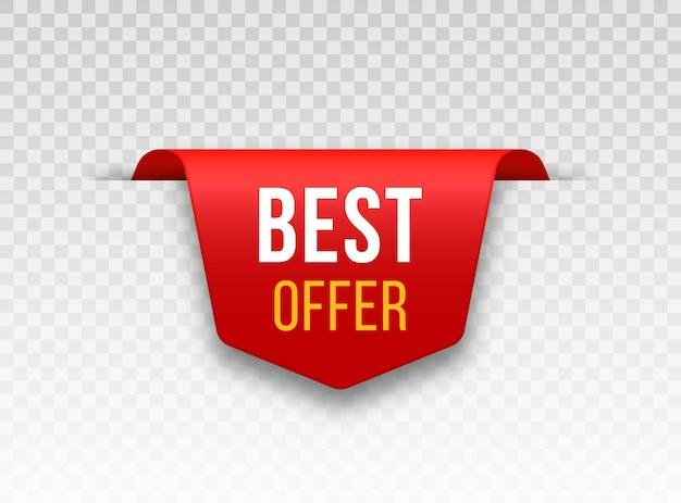 Rote preisschilder tag-design für schwarzen freitag realistisches verkaufsetikett