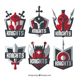 Rote ritter emblem vorlagen