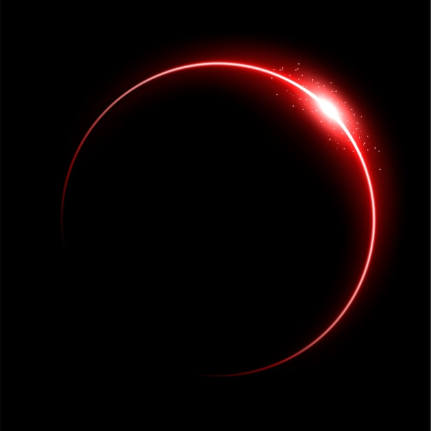 Rote sonnenfinsternis