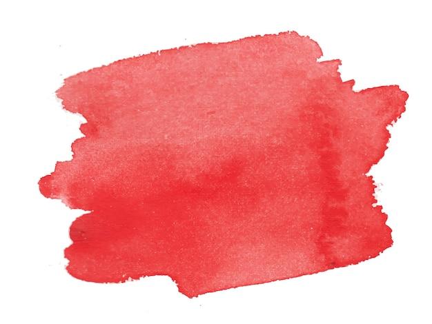 Roter abstrakter aquarellhintergrund