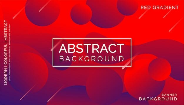 Roter abstrakter hintergrund, modernes buntes dynamisches design