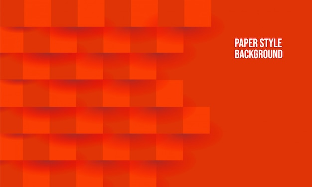 Roter abstrakter papierhintergrund