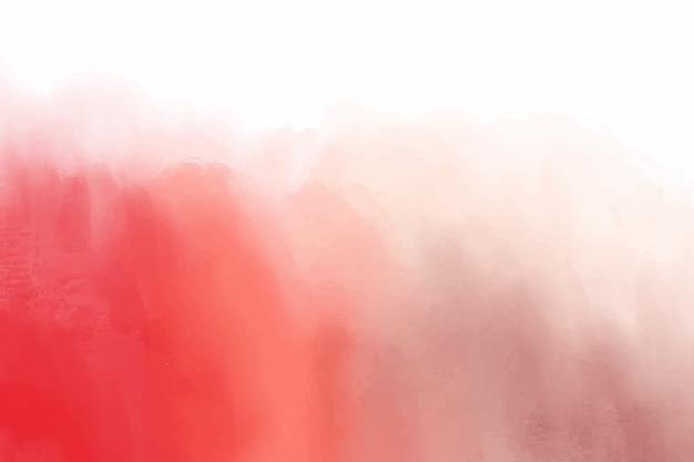 Roter aquarell färbt hintergrund