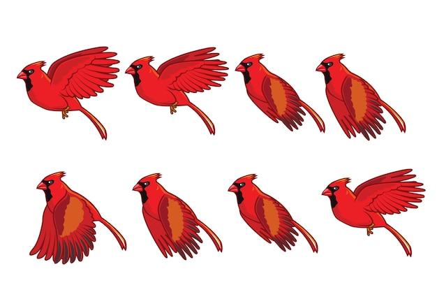 Roter baron cartoon flying sprite