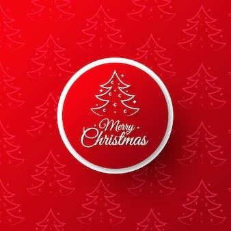 Roter eleganter Weihnachtshintergrund