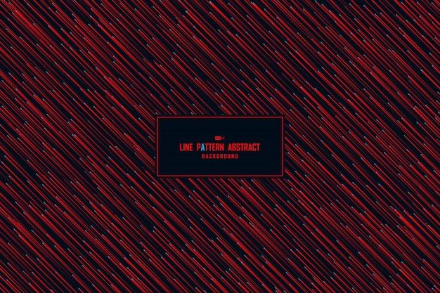 Roter entwurfsmustergrafikhintergrund der abstrakten technologie.