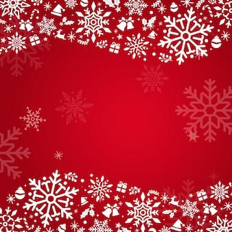 Roter feiertagsdesignhintergrund