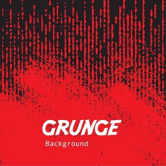 Roter grunge-hintergrund