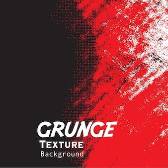 Roter grunge mit halbtonhintergrund