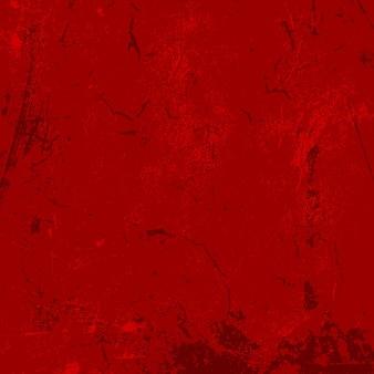 Roter hintergrund mit einer detaillierten schmutzartstruktur