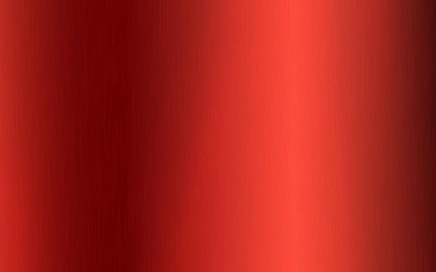Roter metallischer radialer farbverlauf mit kratzern. oberflächenstruktureffekt der roten folie. vektor-illustration.