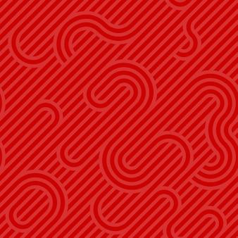 Roter muster hintergrund