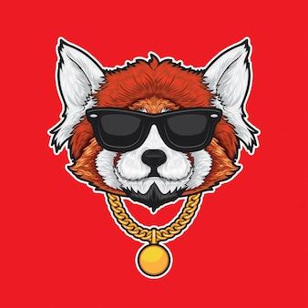 Roter panda hip hop