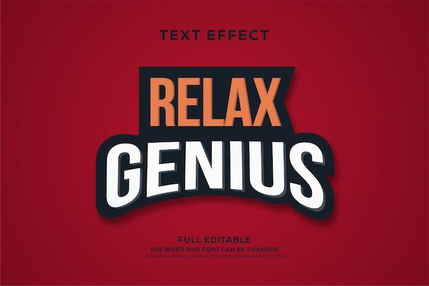 Roter starker fetter texteffekt