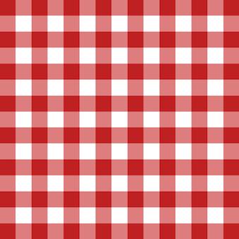 Roter tischtuch vektor