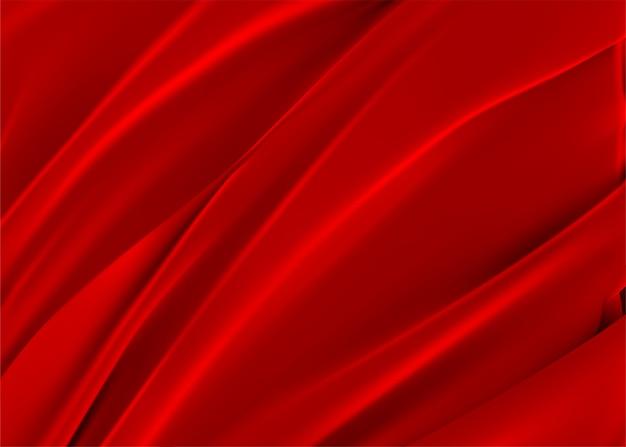 Roter umhang. 3d realistisch