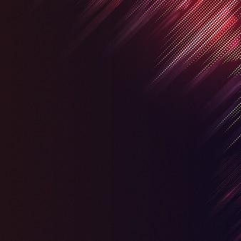 Roter und schwarzer gemusterter hintergrundvektor