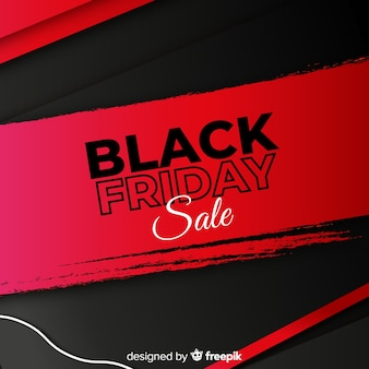 Roter und schwarzer hintergrund für schwarzen freitag-verkauf