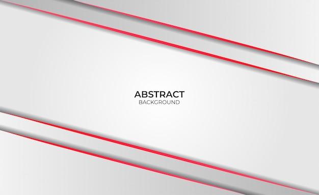 Roter und weißer entwurf des abstrakten hintergrunds