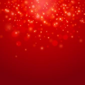 Roter vektor-bokeh-hintergrund