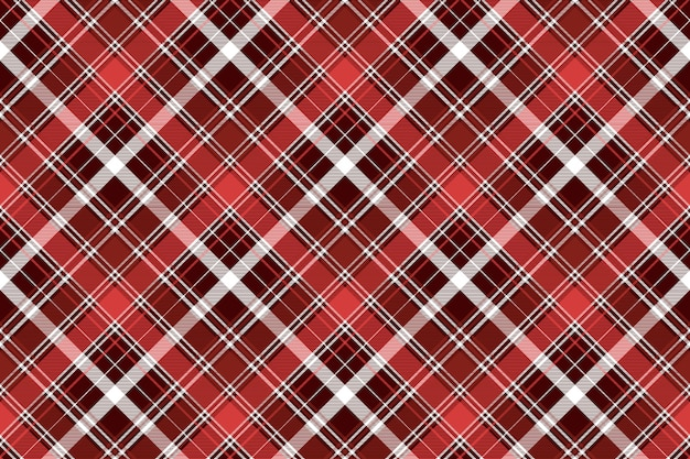 Rotes diagonales abstraktes kariertes nahtloses muster