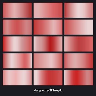 Rotgold-farbverlauf