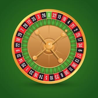 Roulette hintergrund-design