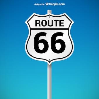 Route 66 zeichen