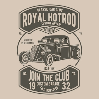 Royal hotrod