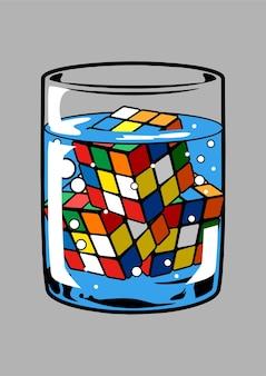 Rubic illustration