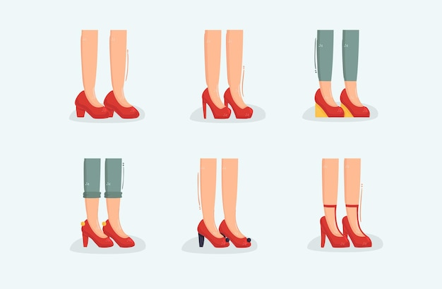 Ruby slippers illustration