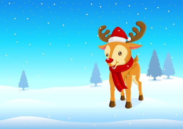 Rudolf das rote nasen-rentier