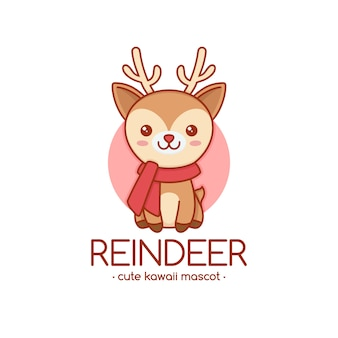 Rudolph-ren-logo-schablone