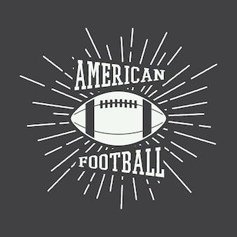 Rugby-emblem und logo