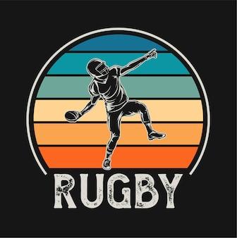 Rugby-illustration
