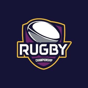 Rugby-meisterschaft, american logo sport