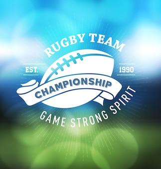 Rugby-meisterschaft logo sport