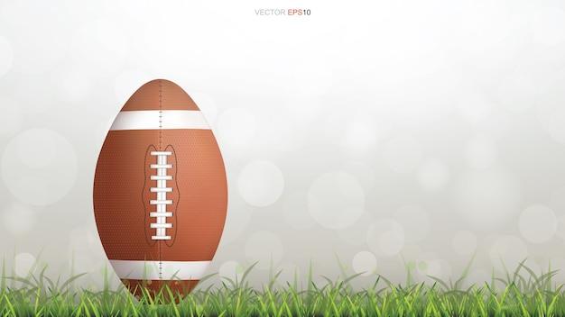 Rugby themenorientierte hintergrundillustration